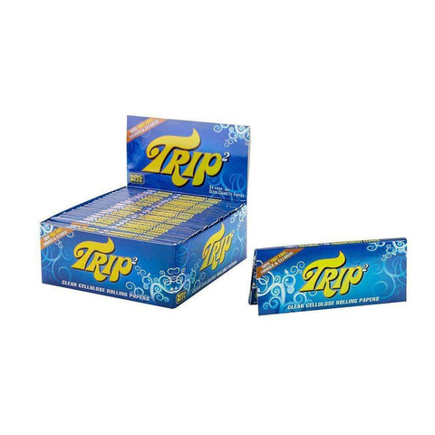 Trip Clear Rolling Papers - King Size  - 24ct