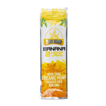 Load image into Gallery viewer, True Hemp Wraps 2Pk - Banana 25Ct