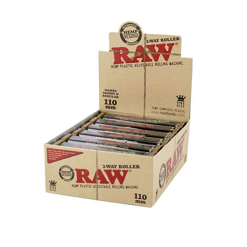 RAW 2-Way Roller 110mm - King Size - 12ct