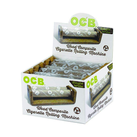 OCB Wood Roller Single Wide - 6ct