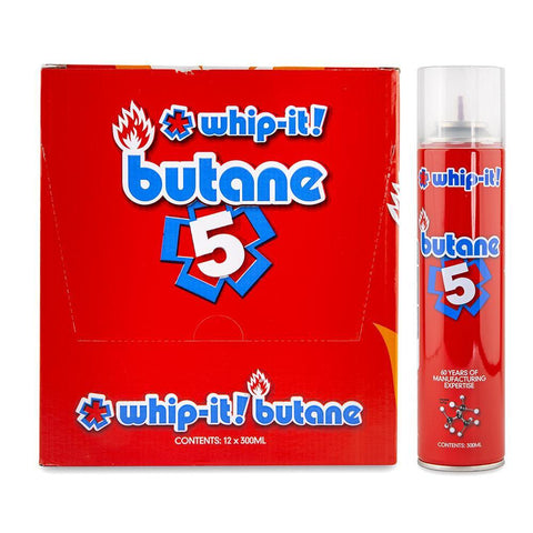 Whip It 5 Butane Gas - 12ct