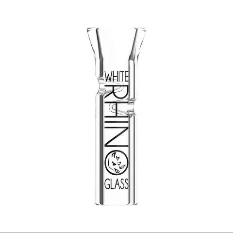 White Rhino Glass Tips – Flat – 100ct
