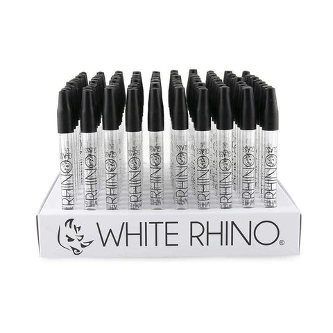 White Rhino Glass Straw - 100ct