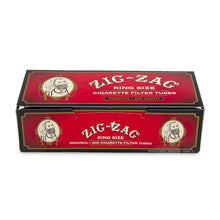 Load image into Gallery viewer, Zig Zag Tubes Original King Size - 200Ct Rolling Papers