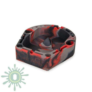 Banger Silicone Ashtray Red/grey/black Accessories