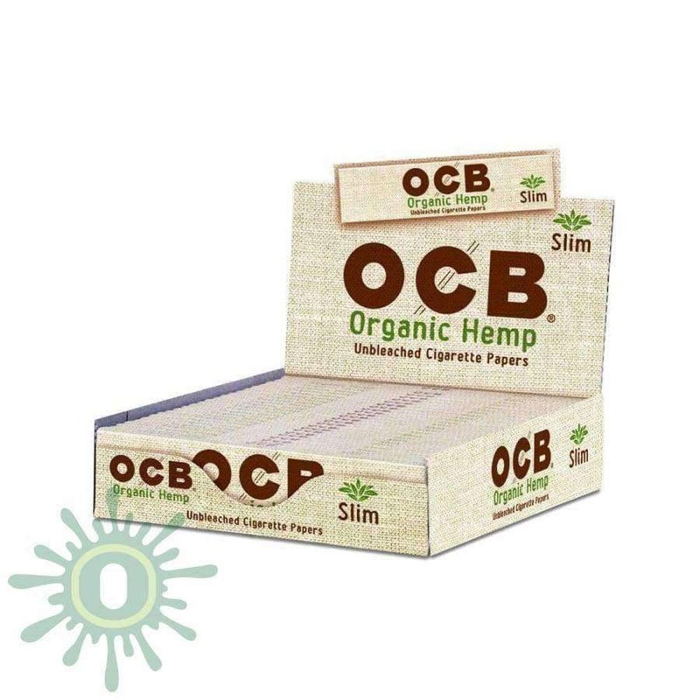 OCB Organic Hemp King Size Slim 24's