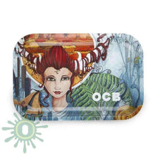 Load image into Gallery viewer, Ocb Rolling Tray Artist Series Medium Trays