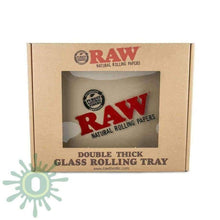 Load image into Gallery viewer, Raw Double Thick Glass Rolling Tray Trays
