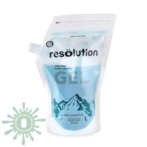 Resolution Gel Glass Cleaning Solution