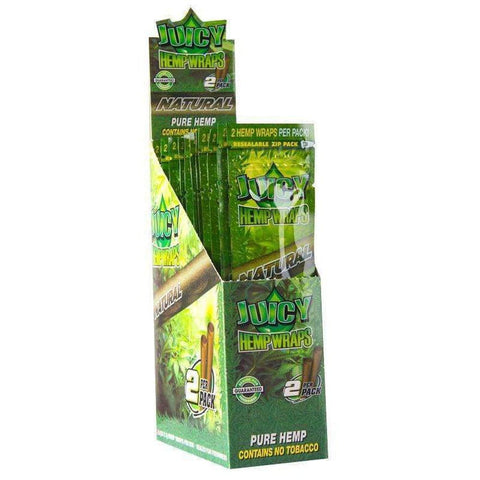 Juicy Jays Hemp Wraps Natural - 25ct