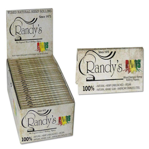 Randy's Roots Hemp Papers - 25 ct