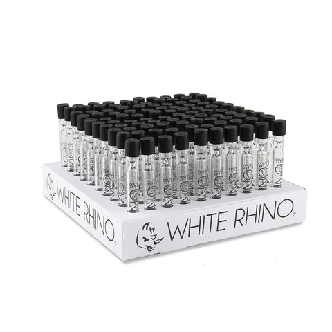 White Rhino Glass Chillum - 100ct