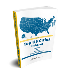 [eReport] HubSpot Marketing Manager: Salaried vs Hourly -- Top-175 US Cities