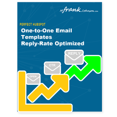 HubSpot Perfect One-to-One Email Templates Cover