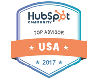 2017 HubSpot Top Advisor Award - M. Frank Johnson
