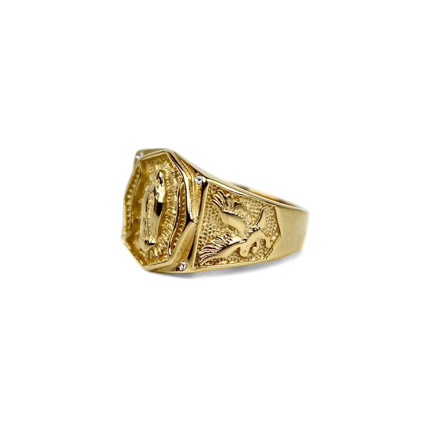 Virgin Mary Ring - Gold
