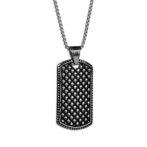Steel Tag Necklace
