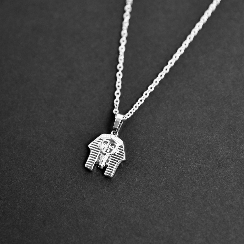 Pharaoh Necklace - Silver