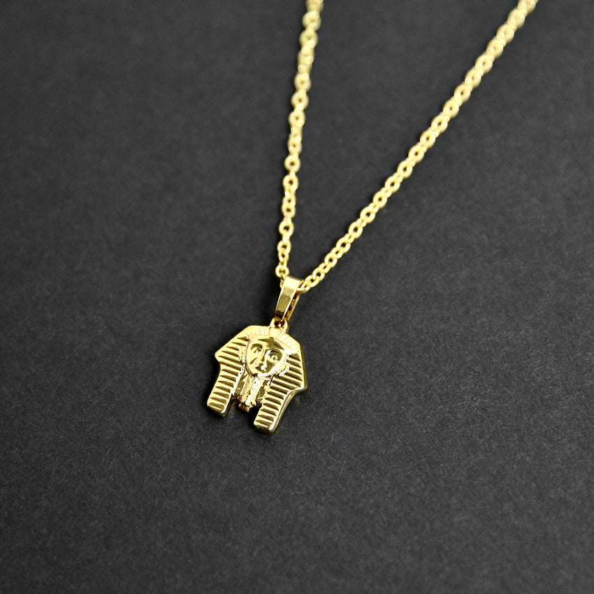 Pharaoh Necklace - Gold