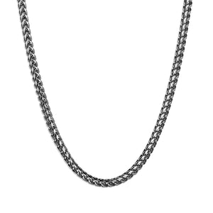Franco Chain Necklace - Silver 3mm