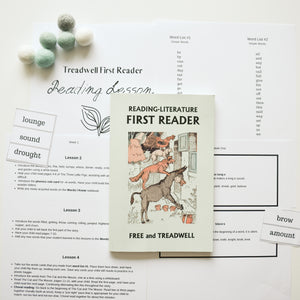 Free and Treadwell First Reader Reading Lessons
