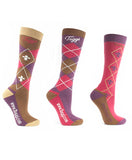 Toggi Chestermere Riding Socks - Pack of 3