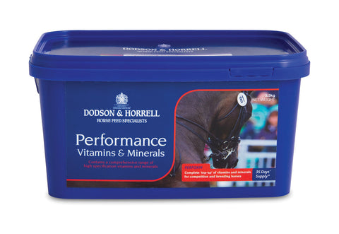 Dodson & Horrell Performance Vitamins & Minerals 3.5KG