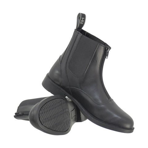 HyLAND Southwold Leather Zip Paddock Boots