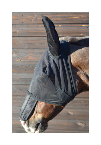 Hy Fly Mask with Ears & Sunshield
