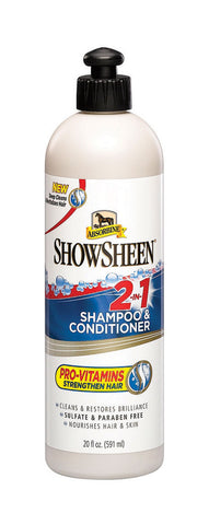 Absorbine Showsheen 2-in-1 Shampoo & Conditioner 591ml