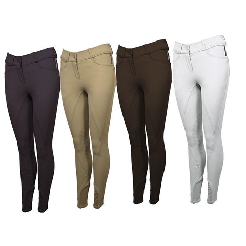 Mark Todd Ladies Marceline Breeches with Silicone Knee Grips