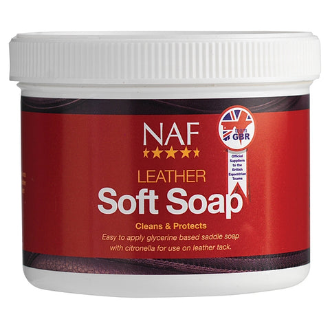 NAF Leather Soft Soap 450g