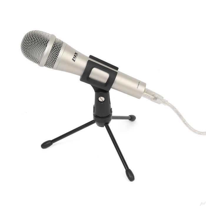 LyxPro HHMU-10 Cardioid Dynamic USB Microphone for Home Recording