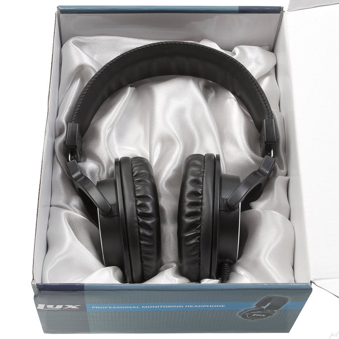 LyxPro Over-Ear Professional Studio Monitor & Mixing Headphones