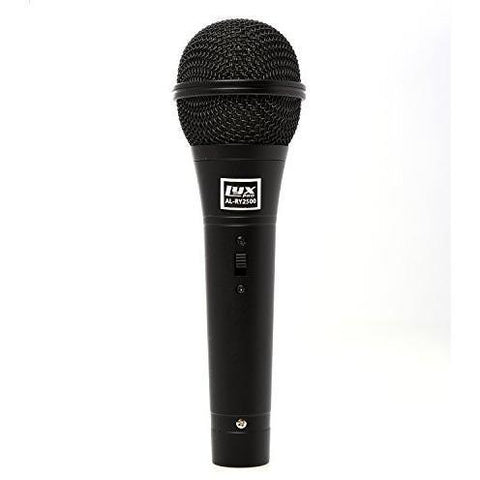 Vocal Dynamic Microphone Includes Cable, Mic Clip And Pouch