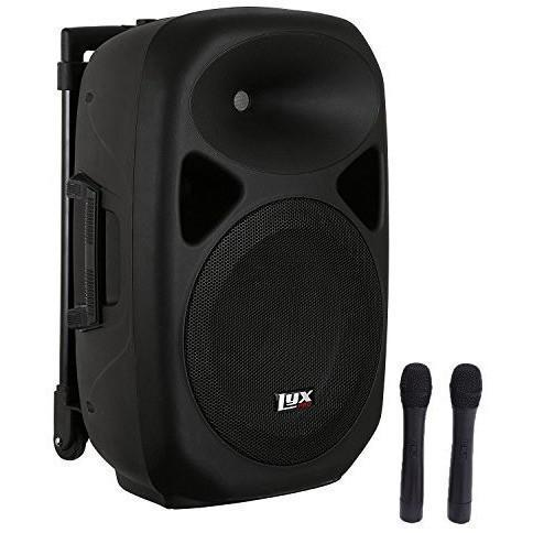 LyxPro SPA-12BAT Battery Powered Active Speaker Portable PA System