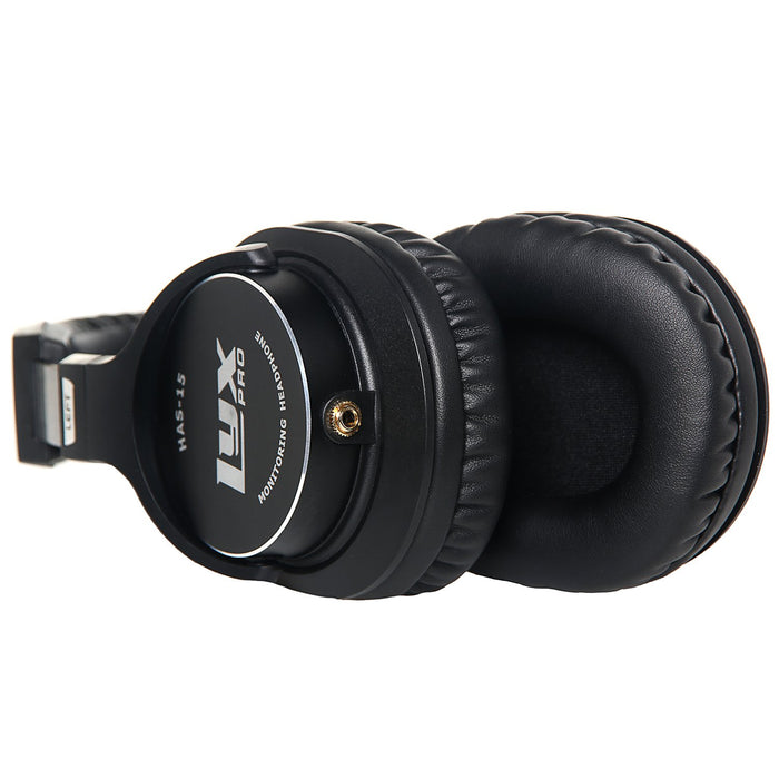 HAS-15 Over Ear Studio Headphones Closed-back with Detachable Cables