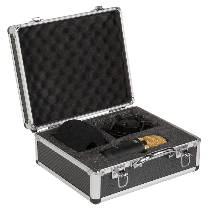 Lyxpro Large Diaphragm Cardioid Condenser Studio Microphone Kit