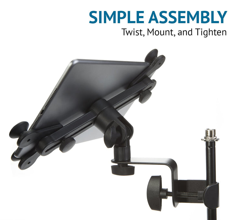 Music Stand for Electronic Devices with 360 degree Swivel Movement