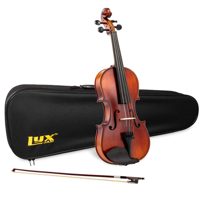 LyxJam Acoustic Violin Set with Free Full-sized Carry Case