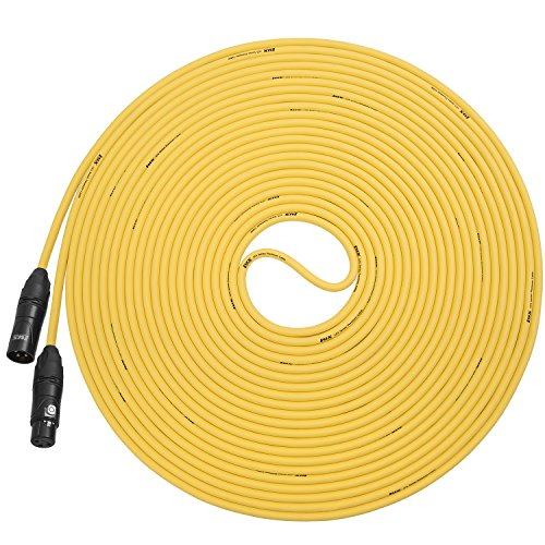 LyxPro Balanced XLR Cable Premium Series Microphone Cable