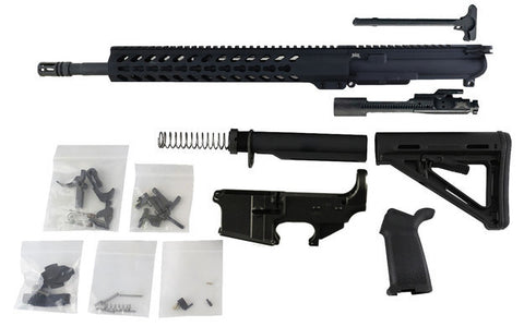 "AR-15 Build Kit - 300 Blackout (Keymod Handguard & 16"" Barrel) with Fire/Safe Engraved  80% Lower Receiver - 300-BlackoutUpper.com"