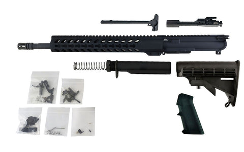 "300 Blackout - 16"" Barrel and 13.5"" Keymod Lightweight Handguard - Freedom Rifle Kit - 300-BlackoutUpper.com"