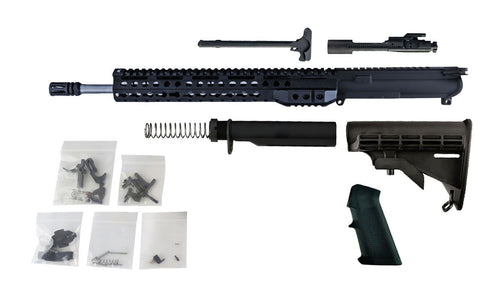 "300 Blackout - 16"" Stainless Steel Barrel and 13.5"" Keymod Lightweight Handguard - Freedom Rifle Kit #10 - 300-BlackoutUpper.com"