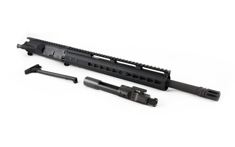 "300 Blackout Upper (16"" Barrel & 12"" Lightweight Keymod Handguard) AR 15 Complete Rifle Upper - 300-BlackoutUpper.com"