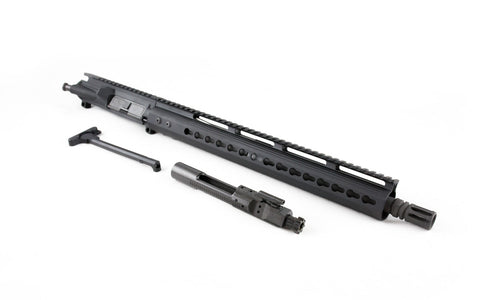 "300 Blackout Upper (16"" Barrel & 15"" Lightweight Keymod Handguard) AR 15 Complete Rifle Upper - 300-BlackoutUpper.com"
