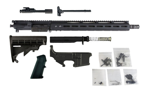 "300 Blackout (16"" Barrel & 15"" M-Lok Handguard) AR15 Complete Rifle Build Kit #1 - 300-BlackoutUpper.com"