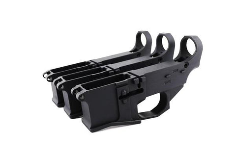 Premium Black Billet 80% Lower with Fire/Safe Engraving (3-Pack) - 300-BlackoutUpper.com