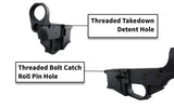 Modulus Arms AR-15 / AR-9 / LR-308 Router Jig Extreme & Premium Black Billet 80% Lower with Fire/Safe Engraving (1-Pack) - 300-BlackoutUpper.com