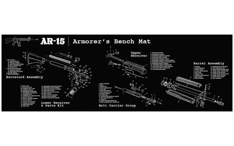 AR-15 Build Mat - 300-BlackoutUpper.com